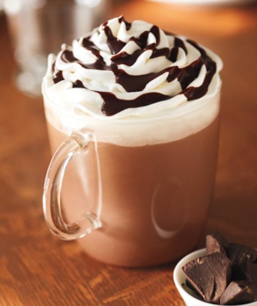kalori hot chocolate