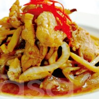 Kalori Ayam Masak Halia